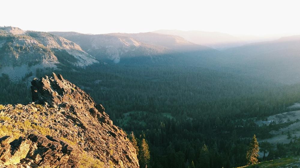 Epic ridge walk.