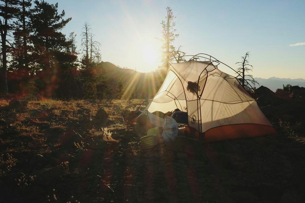 Epic camp site.