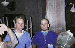 two doctors volunteering at Ground Zero after 9-11