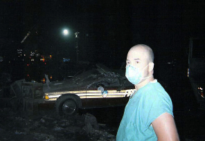 doctor at Ground Zero after 9/11