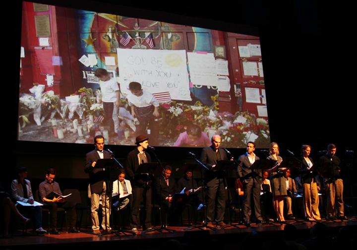 Tony Shalhoub, Vincent Piazza, Noah Emmerich, Jeremy Piven, Cynthia Nixon, Merritt Wever, cast of 110 STORIES