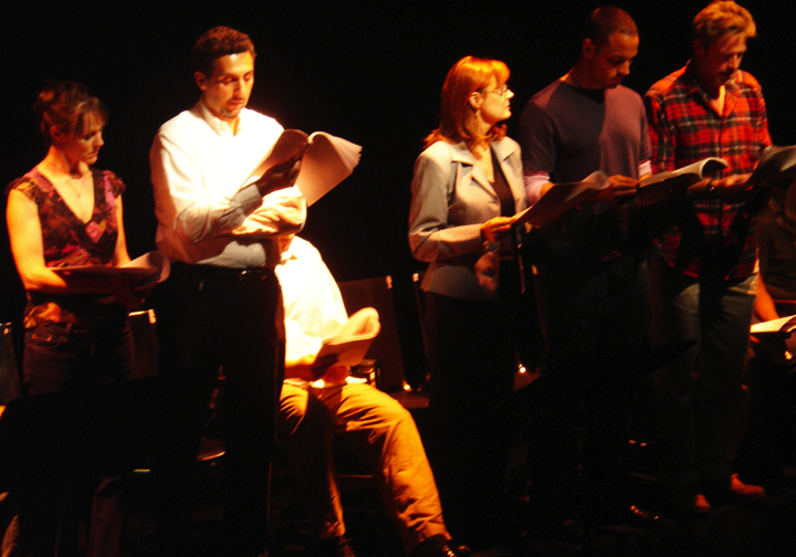 Mary Stuart Masterson, Susan Sarandon, Daniel Sunjata, James McCaffrey, cast of 110 STORIES