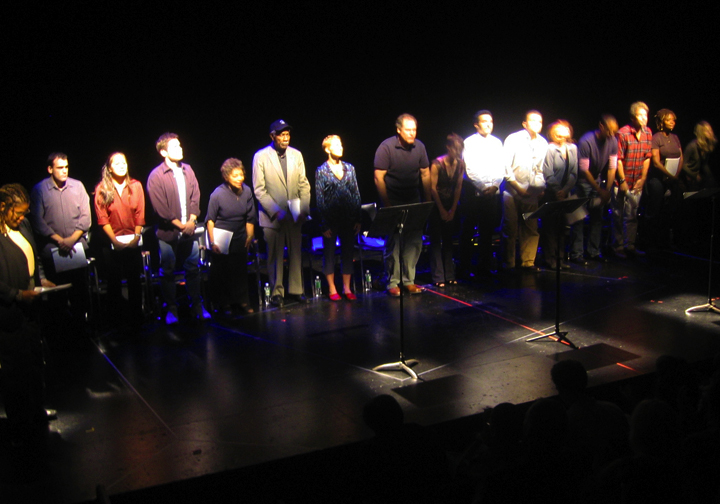 Curtain Call by cast of 110 STORIES