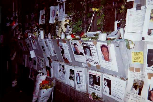 9-11 missing posters