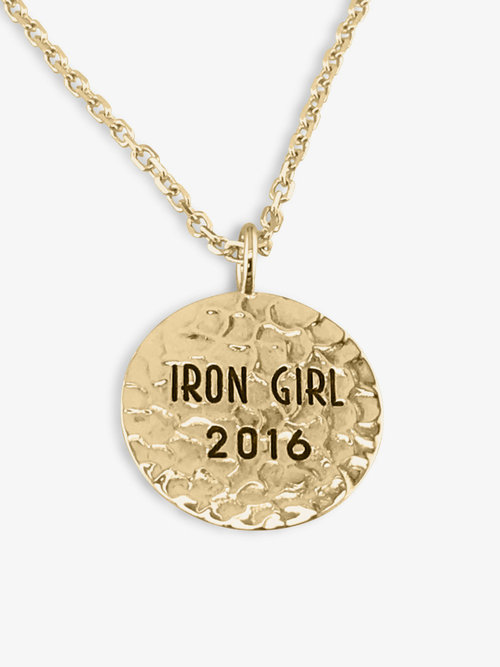 Handmade engraved round solid gold pendant name charm memories by handmade engraved round solid gold pendant name charm aloadofball Choice Image