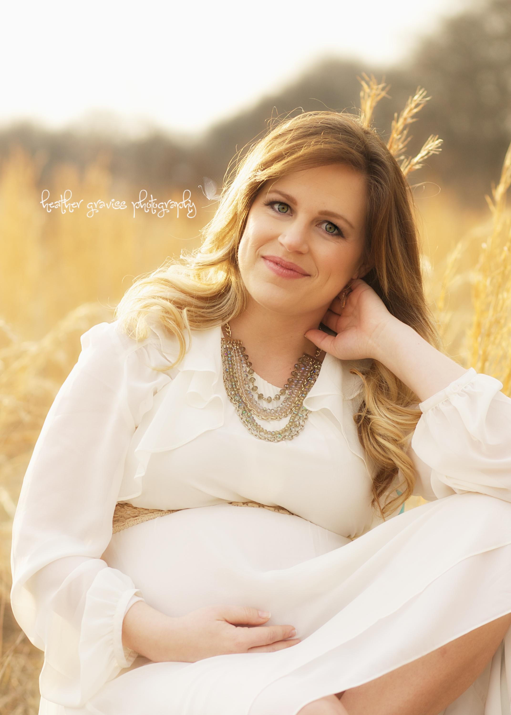 pretty mother pregnant