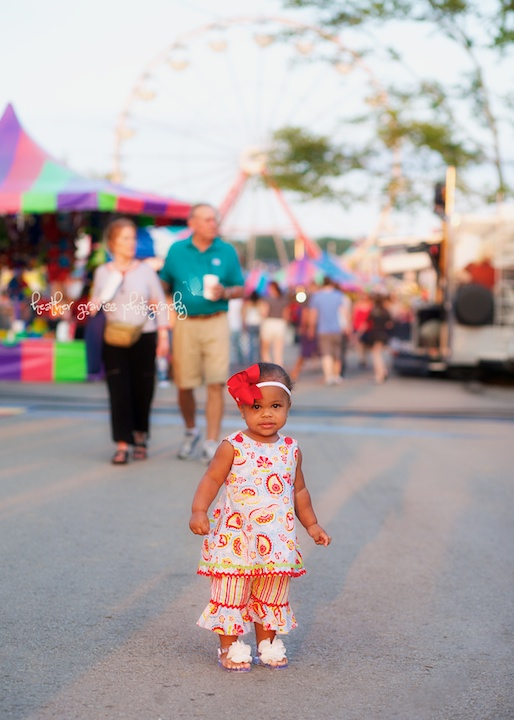 baby at the fair