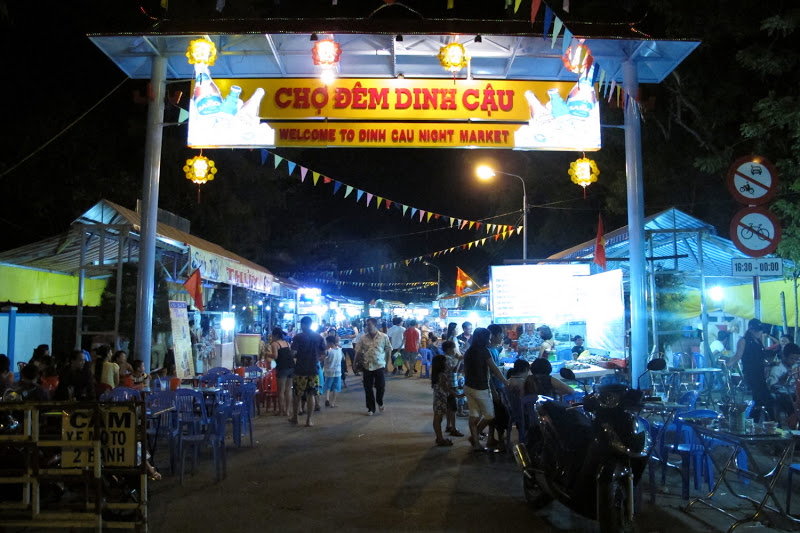"At the Night Market in Phu Quoc Island called ""Dinh Cau"""