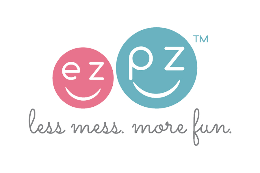 ezpz - ezpz's all-in-one placemats and plates suction to the table to eliminate spills and messes.