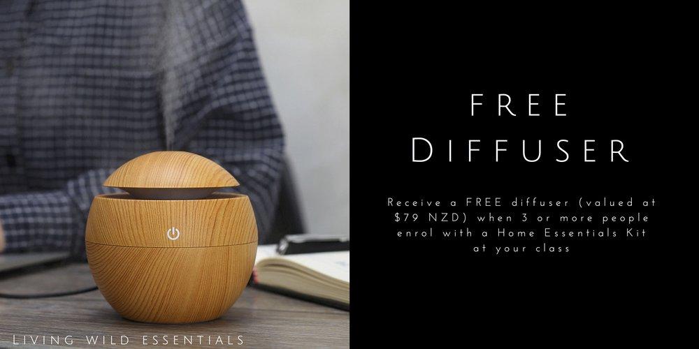 Free diffuser
