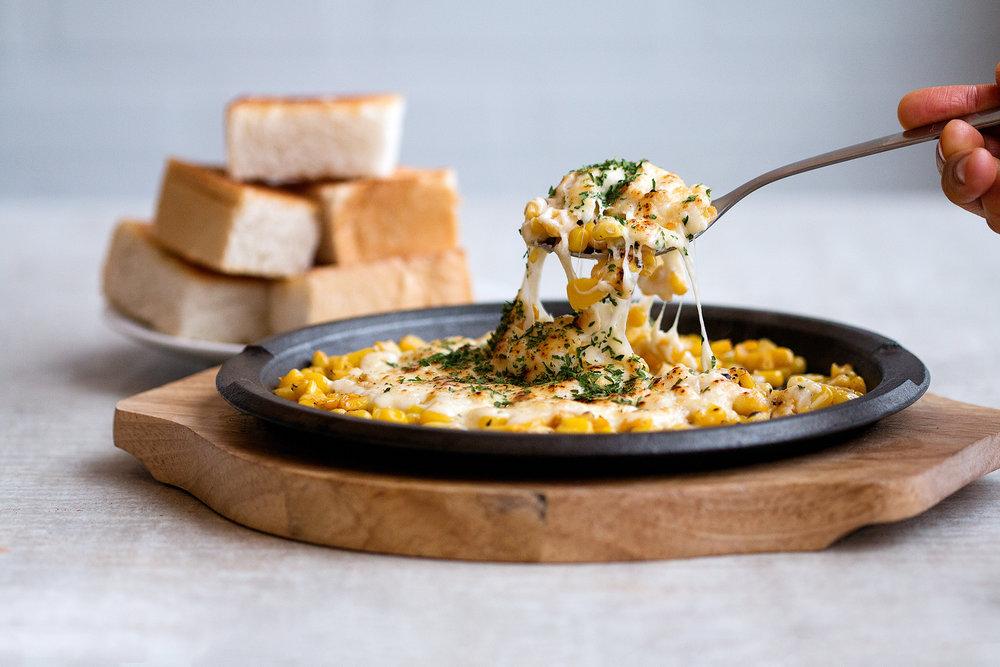 Corn Cheese Hotplate
