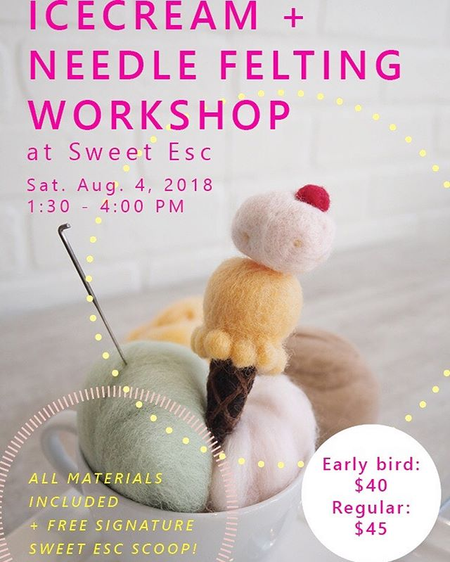 🍨HAPPY NATIONAL ICE CREAM DAY!!!🍨 Needed a bit of time to churn out the details but here's the scoop! 😜  We get to host @heartfeltbundles and @sebbyconfetti on their first collab workshop! Check them out or swipe for more details on what this cool workshop includes! Oh and of course, it's air-conditioned #escapetheheat #weekendfun 😏 • • 🚨 Important notes from the crafters 🚨} Early bird ends Sunday July 22, 6 pm!! Due to limited seats, spots are on a first come, first serve basis. To register, please e-mail heartfeltbundles@gmail.com your first/last name, age and contact number. Confirmed attendees will then be asked to pay via e-transfer.  Feel free to message us your questions! We hope to see you there 😊