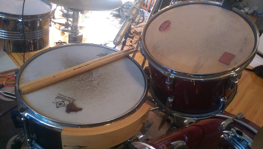 Snare top: Lauten Torch