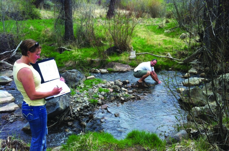 real science - Coloradan civilians monitor their state's river health, informing water policy and environmental best-practices.