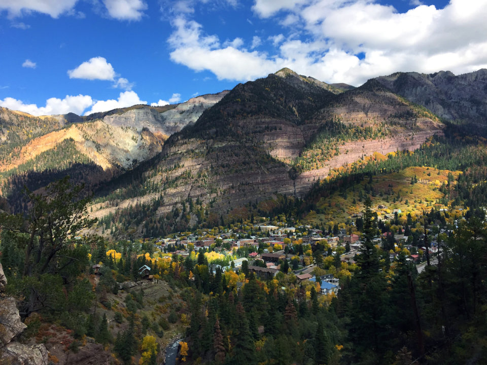 hikes we like - The Ouray Perimeter Trail.