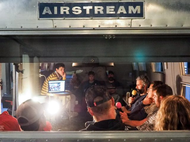 the next step - 'Rare Air Talks' series debuts with Jamie Logan and Luis Benitez onstage