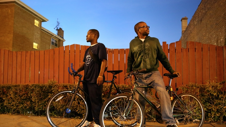 Slow Roll Chicago Co-Founders Jamal Julien (left) and Oboi Reed.