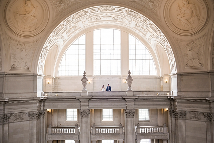 San Francisco City Hall Engagement Photography | Lilouette