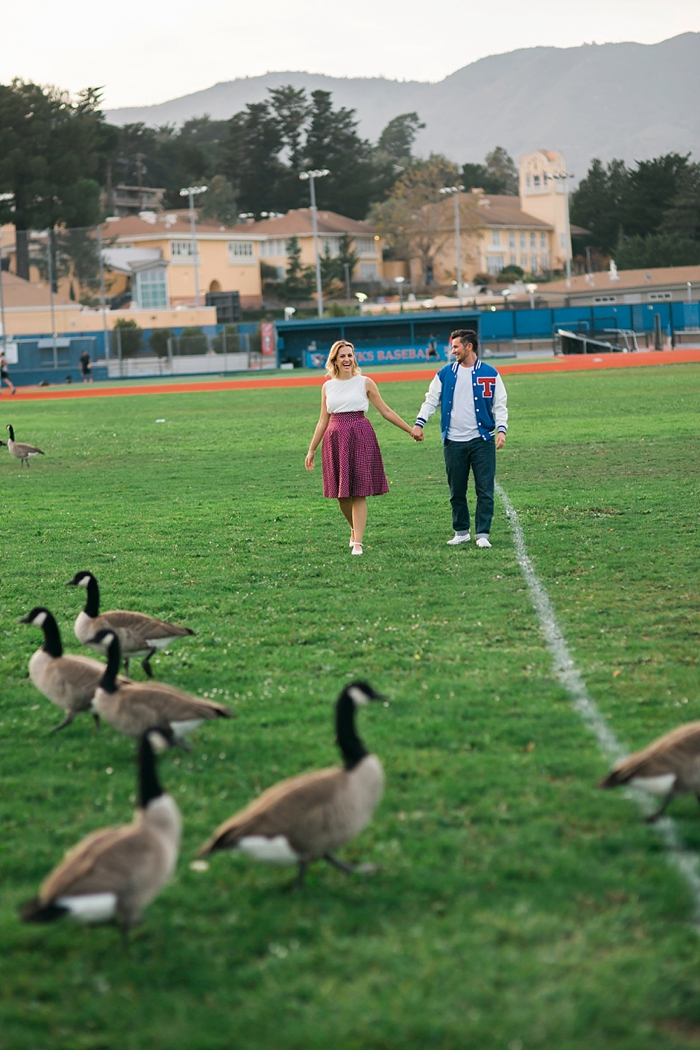 Tamalpais High School Engagement Photography | Lilouette