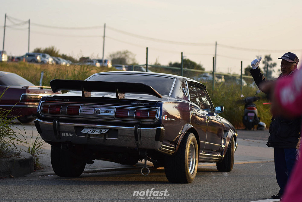 An example of American muscle influence in Japan.