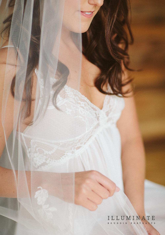 Bridal boudoir outfit