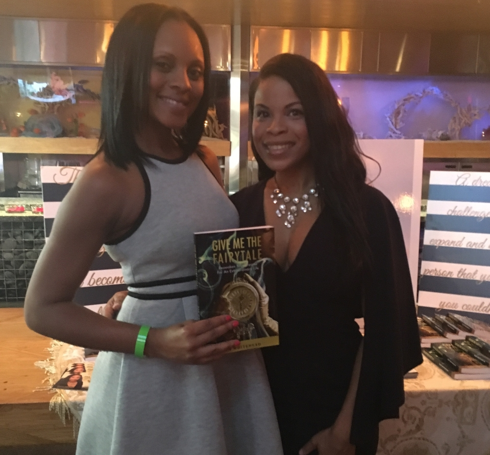 Host Maria Wills and Author Kim Whitehead
