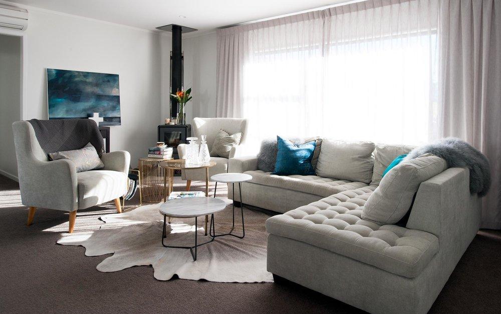 GROWN UP FAMILY HOME  renovation & furnishings