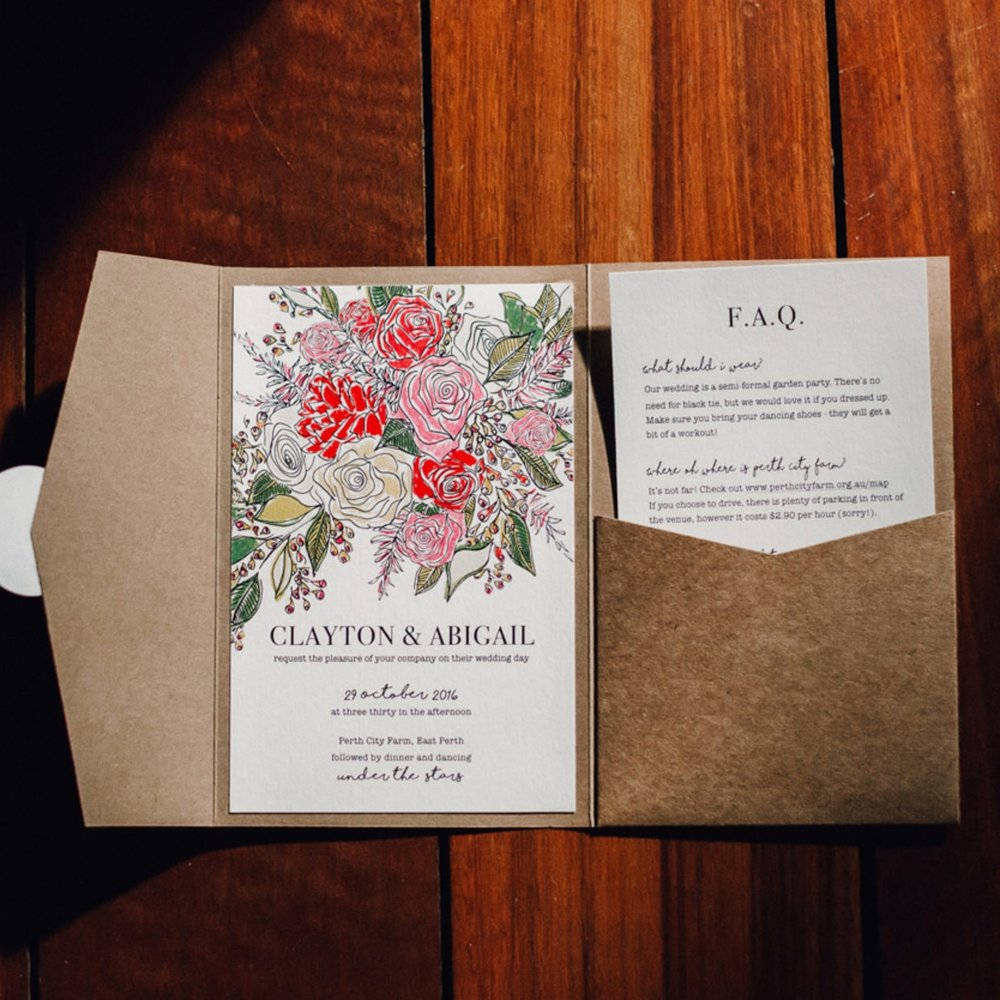 ILLUSTRATION/ DESIGN - Wedding stationery