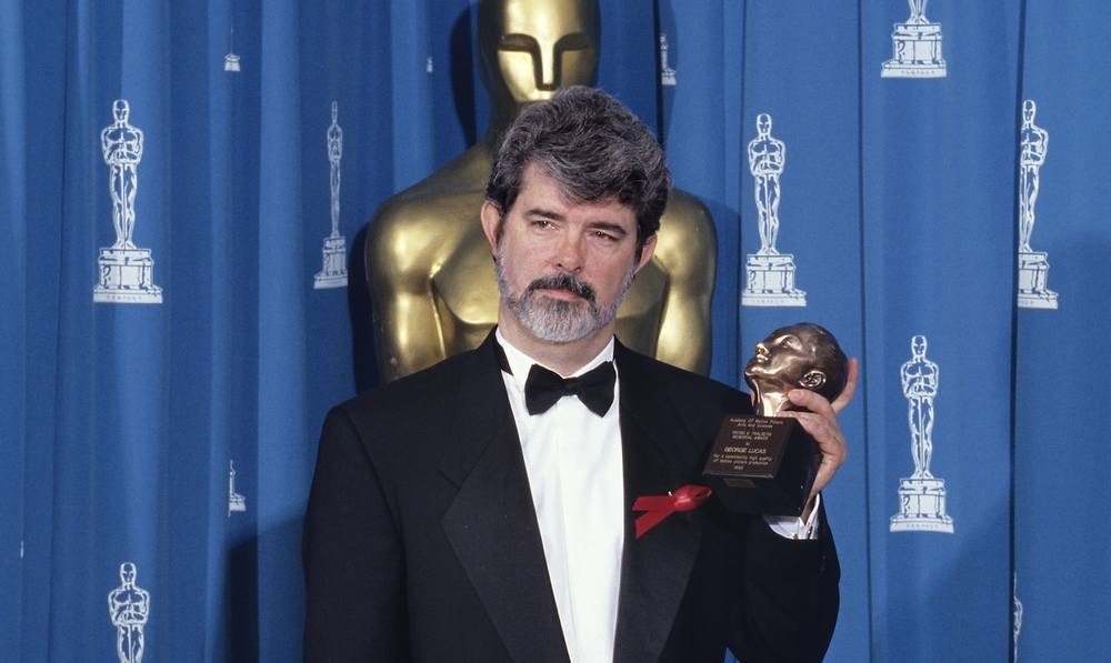 "This man has never won a competitive Oscar. ""How?!"" we ask. (courtesy AMPAS)"