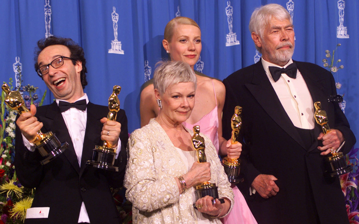 Dame Dench is not impressed. (courtesy AMPAS)