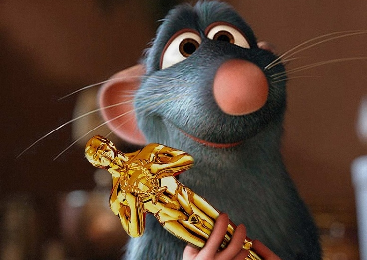Remy won an Oscar once.