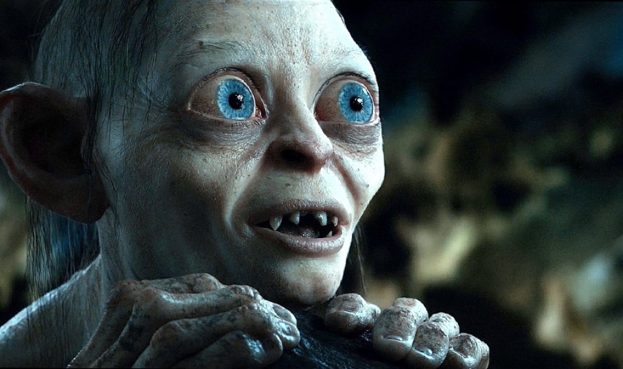 Gollum: a very special effect. (courtesy New Line Cinemas)