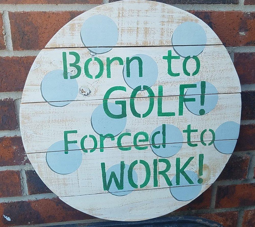 """T2: Born to Golf (14"""" Round)"""