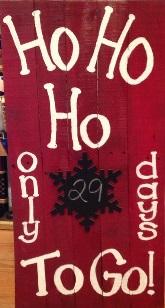 """Xmas21: Ho Ho Ho (10"""" x 18"""")"""