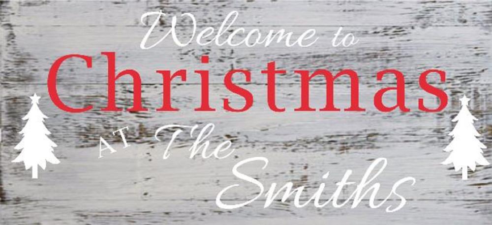 """Xmas19: Welcome Christmas (10"""" x 21"""")"""