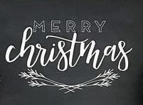 """Xmas14: Merry Christmas (14"""" x 21"""")"""