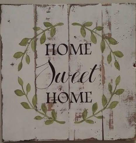 "X5: Home Sweet Home -square (14"" x 14"")"