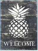 "X11: Welcome Pineapple (10"" x 21"")"