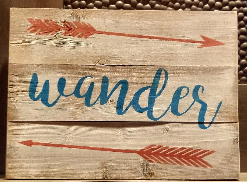 "X14: Wander (10"" x 18"")"
