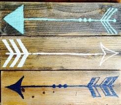 "X19: Arrows (10"" x 18"")"