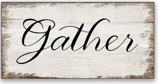 """Fall8: Gather (7"""" x 18"""")"""
