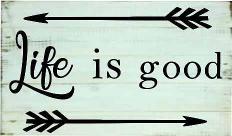 """teen3: Life is good (10"""" x 16"""")"""