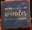 """teen6: wander (10"""" x 10"""")"""