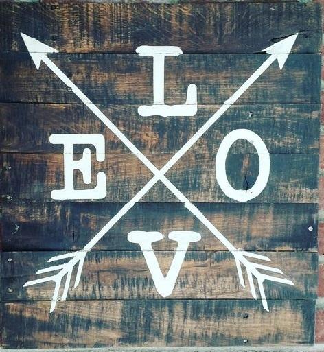 "teen8: LOVE (10"" x 10"")"
