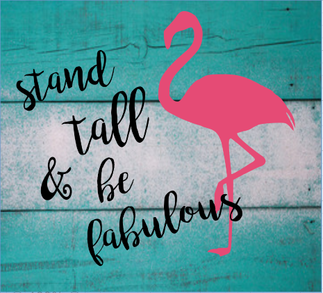 """teen10: stand tall and be fabulous (10"""" x 10"""")"""