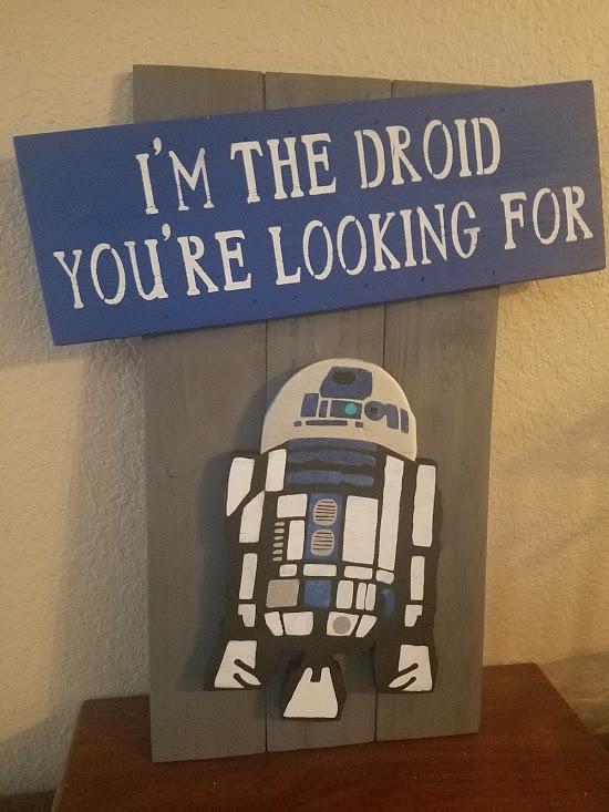 "nerd4: I am the droid (14"" x 21"")"