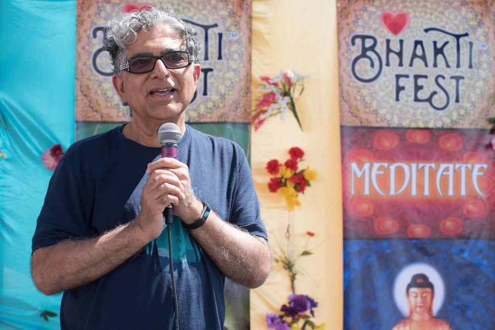 Deepak Chopra-BhaktiFest 10 yr Anniversary 2018