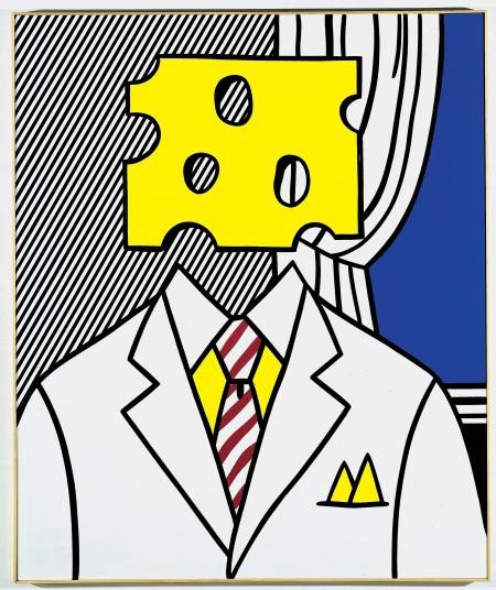 Portrait — Roy Lichtenstein