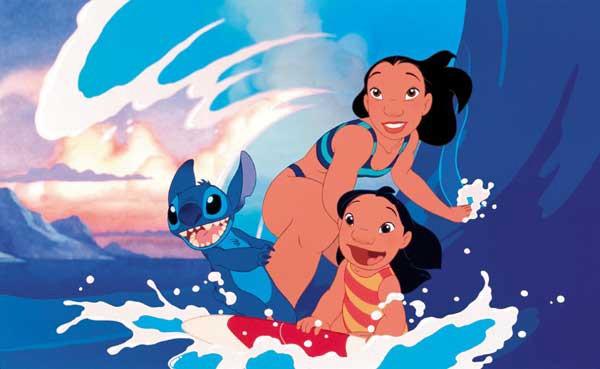 """Lilo & Stitch—""""Ohana quer dizer ' família ' e ' família ' quer dizer 'nunca abandonar ou esquecer"""""""