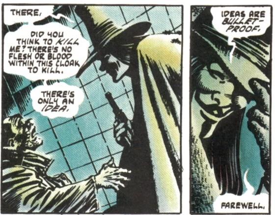 """V for Vendetta"", Alan Moore, David Lloyd, Tony Weare"